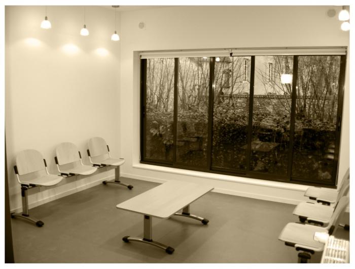 cabinet m dical absie l 39 une r alisation de atelier architecture 47. Black Bedroom Furniture Sets. Home Design Ideas