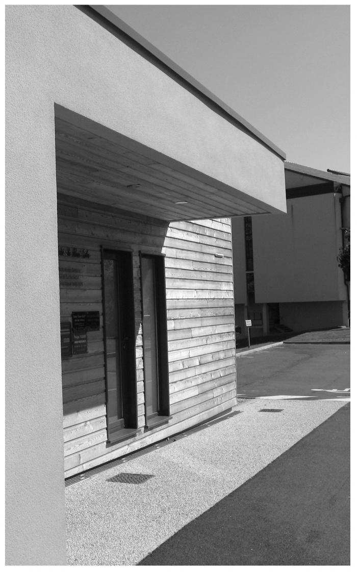Cabinet m dical absie l 39 une r alisation de atelier architecture 47 - Cabinet medical la rochelle ...