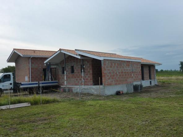 Maison individuelle BBC - ST ANDRE DE CUBZAC : CHANTIER