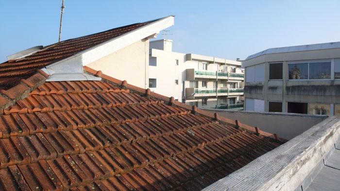 Surélévation d'une maison : toit
