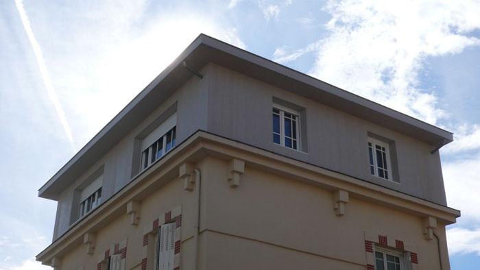 Surélévation d'une maison : exterieur-2