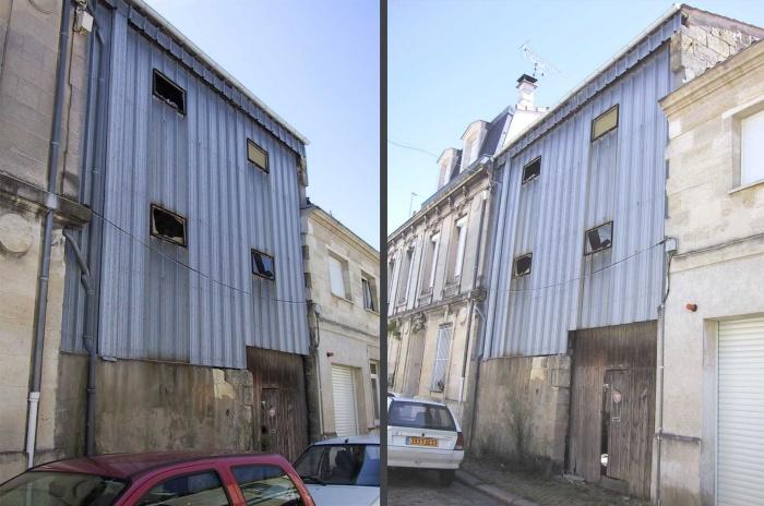 Maison individuelle à Bordeaux centre : Photos extérieures