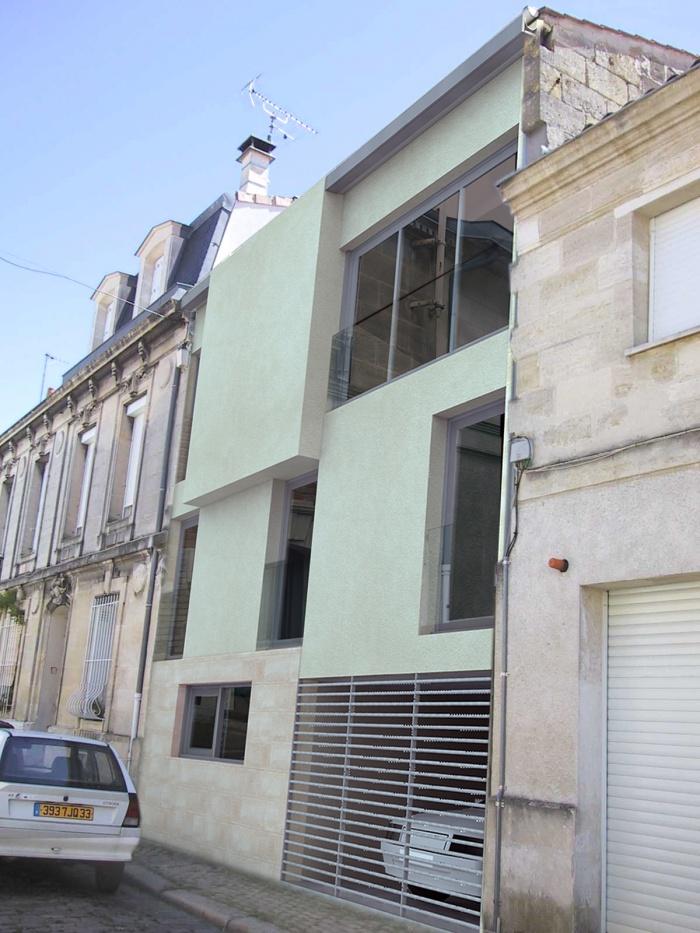 Maison individuelle à Bordeaux centre