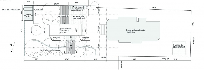 maison GOYA : plan goya