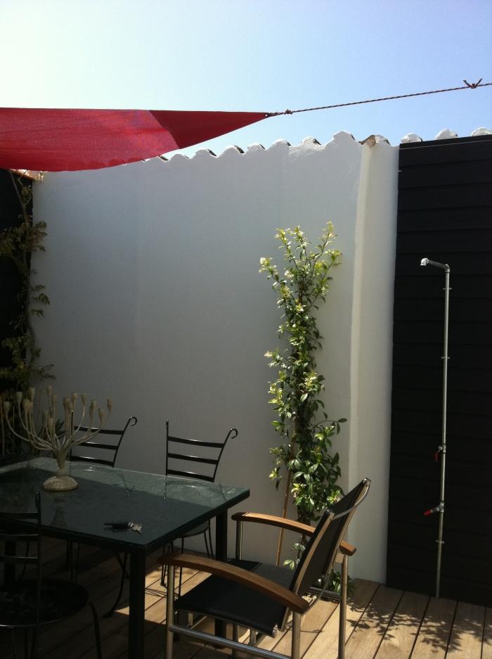 Le clos des vents : Jardin