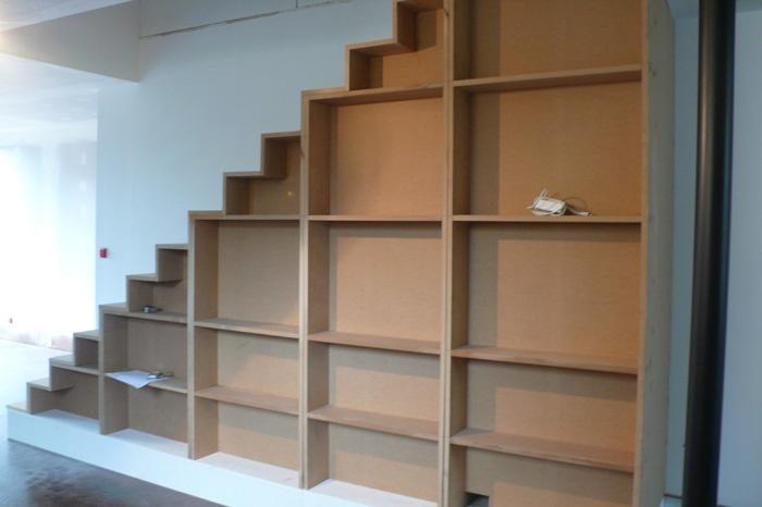 Surélévation en ossature bois : escalier.JPG