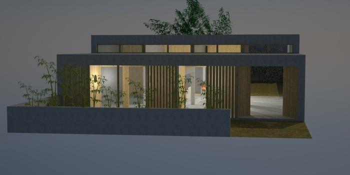 Maison à Pessac - Prix Agora 2014 : 3d