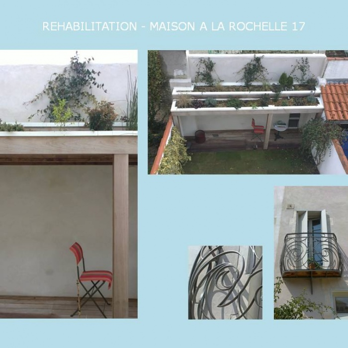 REHABILITATION D'UNE MAISON A LA ROCHELLE 17