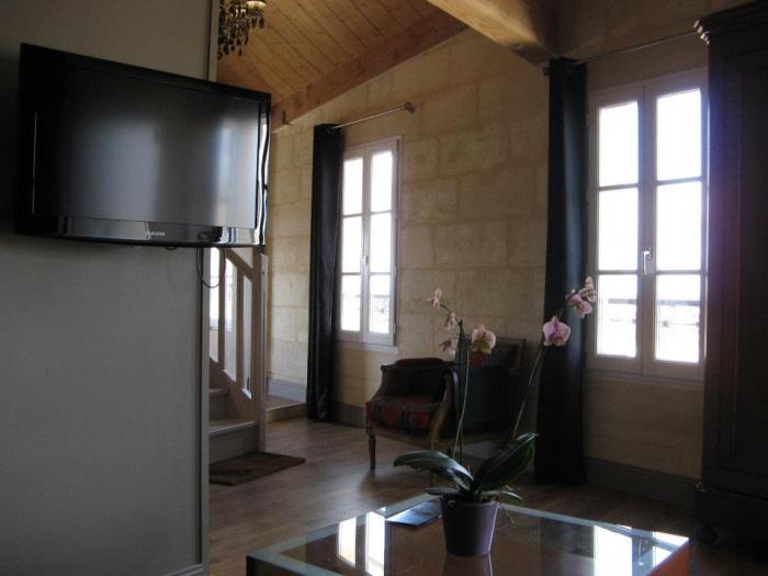 Aménagement de chambres d'hotes et cave a vins - SAINT EMILION : FIN CHANTIER