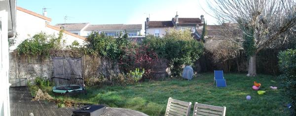 Aménagement de jardin : Image Avant projet
