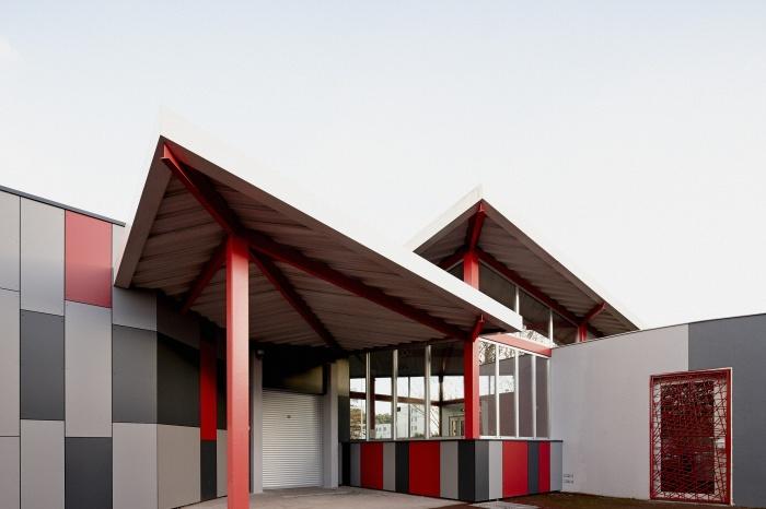 Requalification des façades de la Maison Municipale de Saige-Formanoir - VILLE de PESSAC