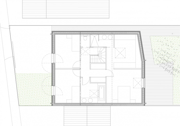Maison au Bouscat : COM TEIXERON PLAN R+1