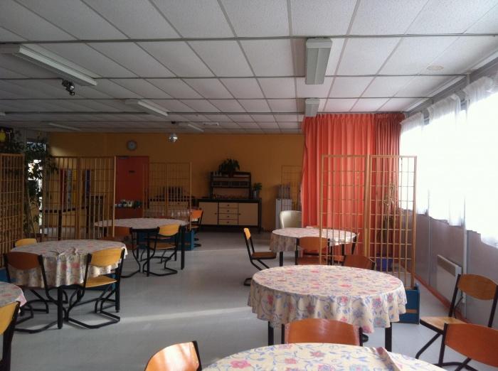 Concept de salle à manger pour un centre d'accueil handicapé : avant 2