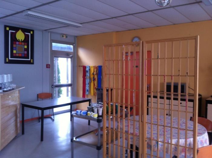 Concept de salle à manger pour un centre d'accueil handicapé : Avant 3