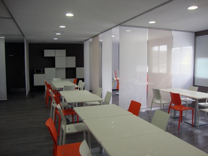 Concept de salle à manger pour un centre d'accueil handicapé
