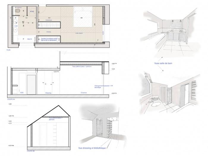 rénovation d'une maison : planche