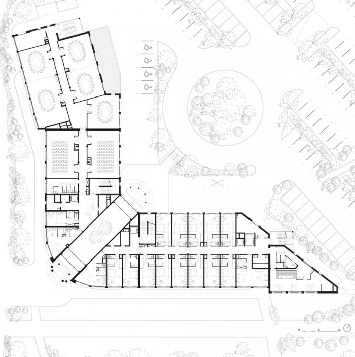 Hôtel WESTOTEL**** Le Pouliguen : Plan du R+1