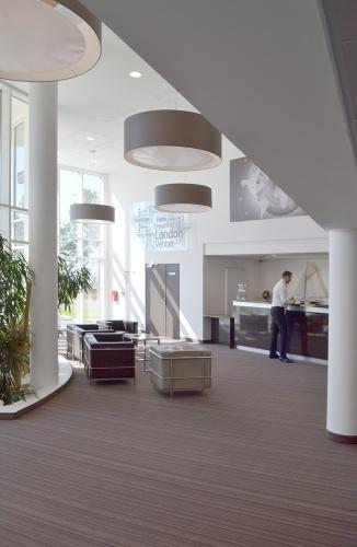 Hôtel Golden Tulip**** Carquefou : Le lobby