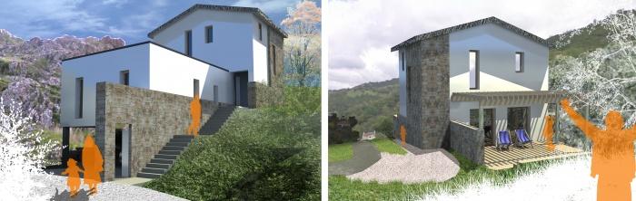 Maison en Corse : Insertions