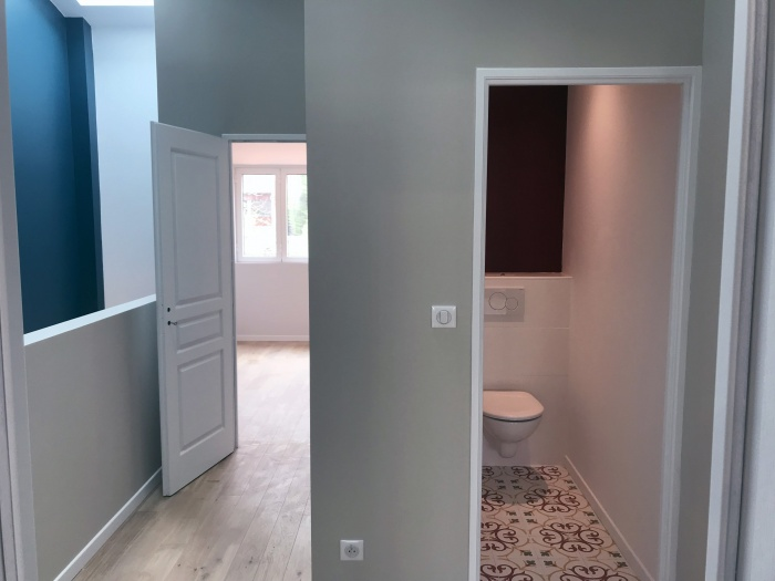 Maison VB : couloir étage