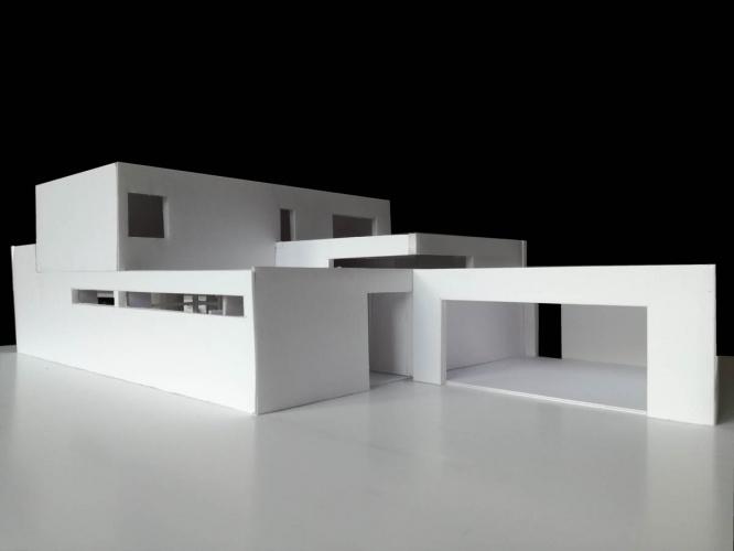 Maison neuve à Villenave d'Ornon : maquette est