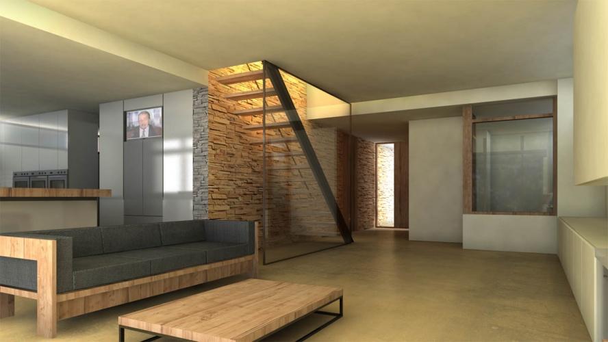 Maison neuve à Villenave d'Ornon : VUE SEJOUR OUEST 017 copie